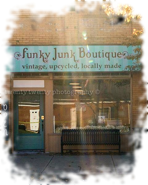 Funky Junk Boutique in Seville, Ohio