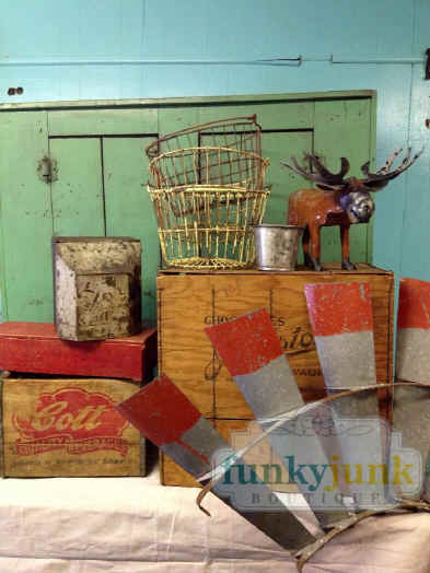 Funky Junk Boutique In Seville Ohio