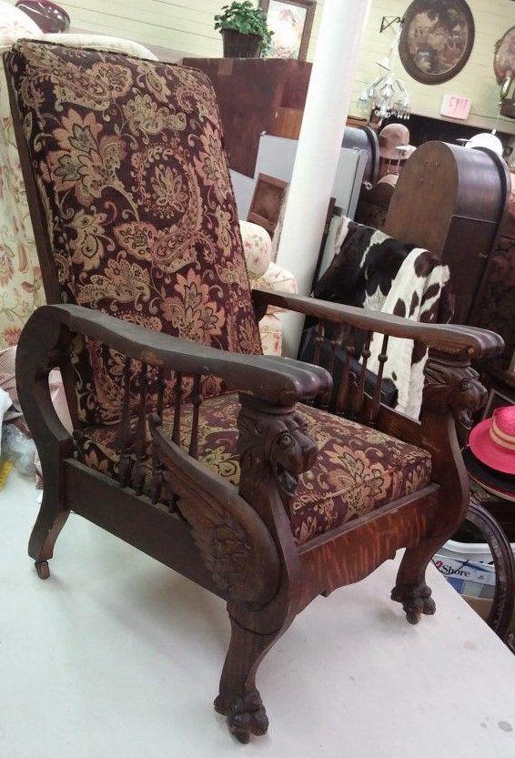 Morris chair. - Sew Creative Custom Interiors & Antiques In Hartville, Ohio